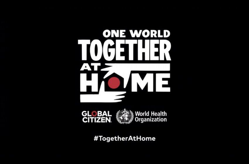 "Artistas se juntan para ""One World: Together at Home"""
