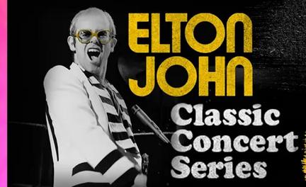 Elton John compartira sus conciertos classicos por Youtube