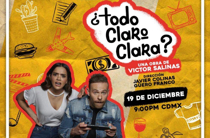 Samadhi Zendejas y Luis Ernesto Franco protagonizan '¿Todo claro, Clara? '