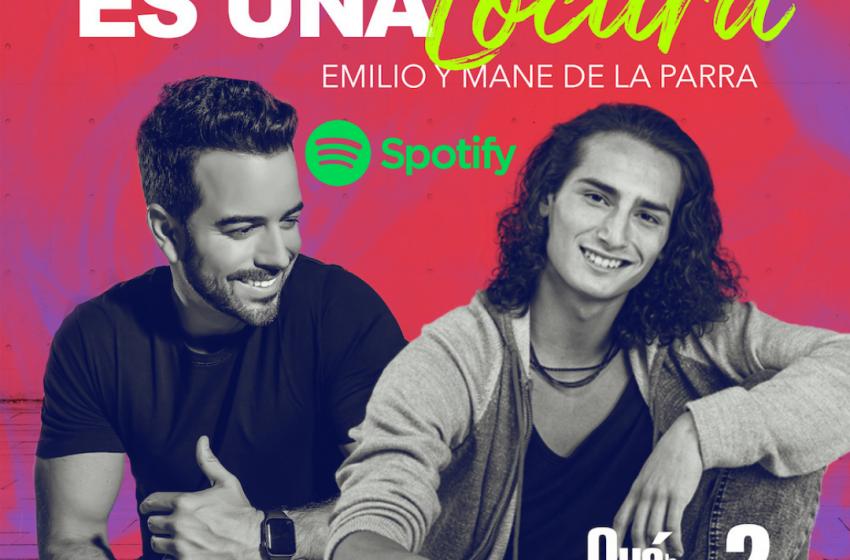 """Mane de la Parra y Emilio lanzan la canción """"Es una locura"""" y crean un divertido challenge"""