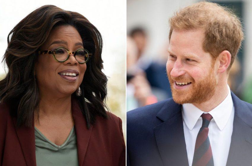 Oprah Winfrey y el Príncipe Harry preparan, una serie documental de Apple TV+ que tratará sobre la salud mental.